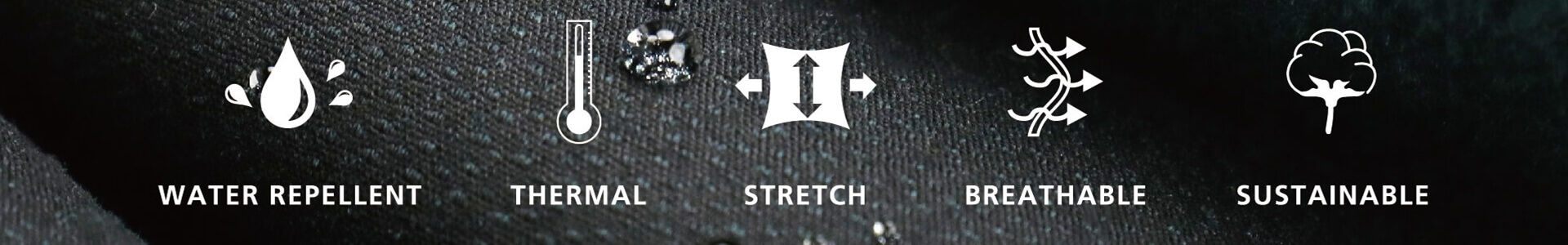 Features of HerMin Bio-softshell Fabrics