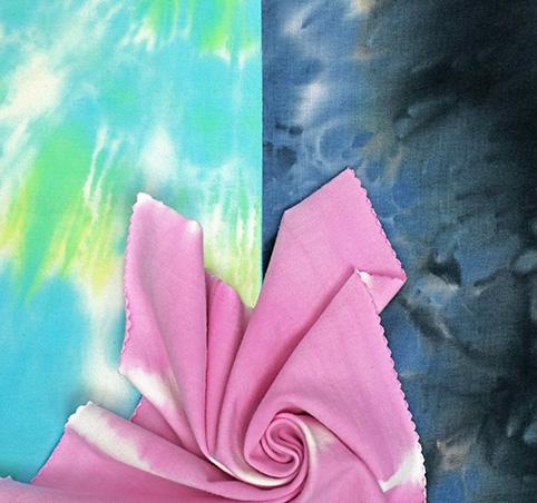 Tie Dye Knit Fabrics
